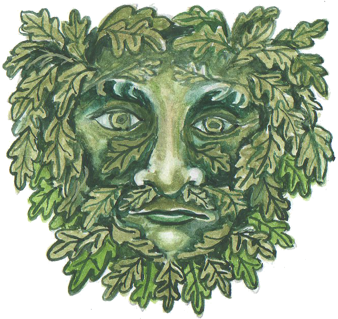 Green Man by Robin of Thornwood